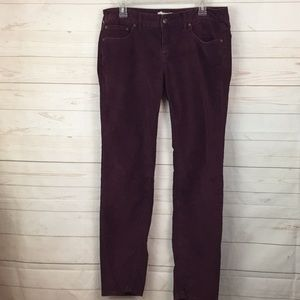 Free People Sz 31 corduroy straight leg jeans